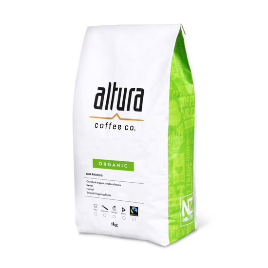 altura 1kg coffee bag white bg organic.1