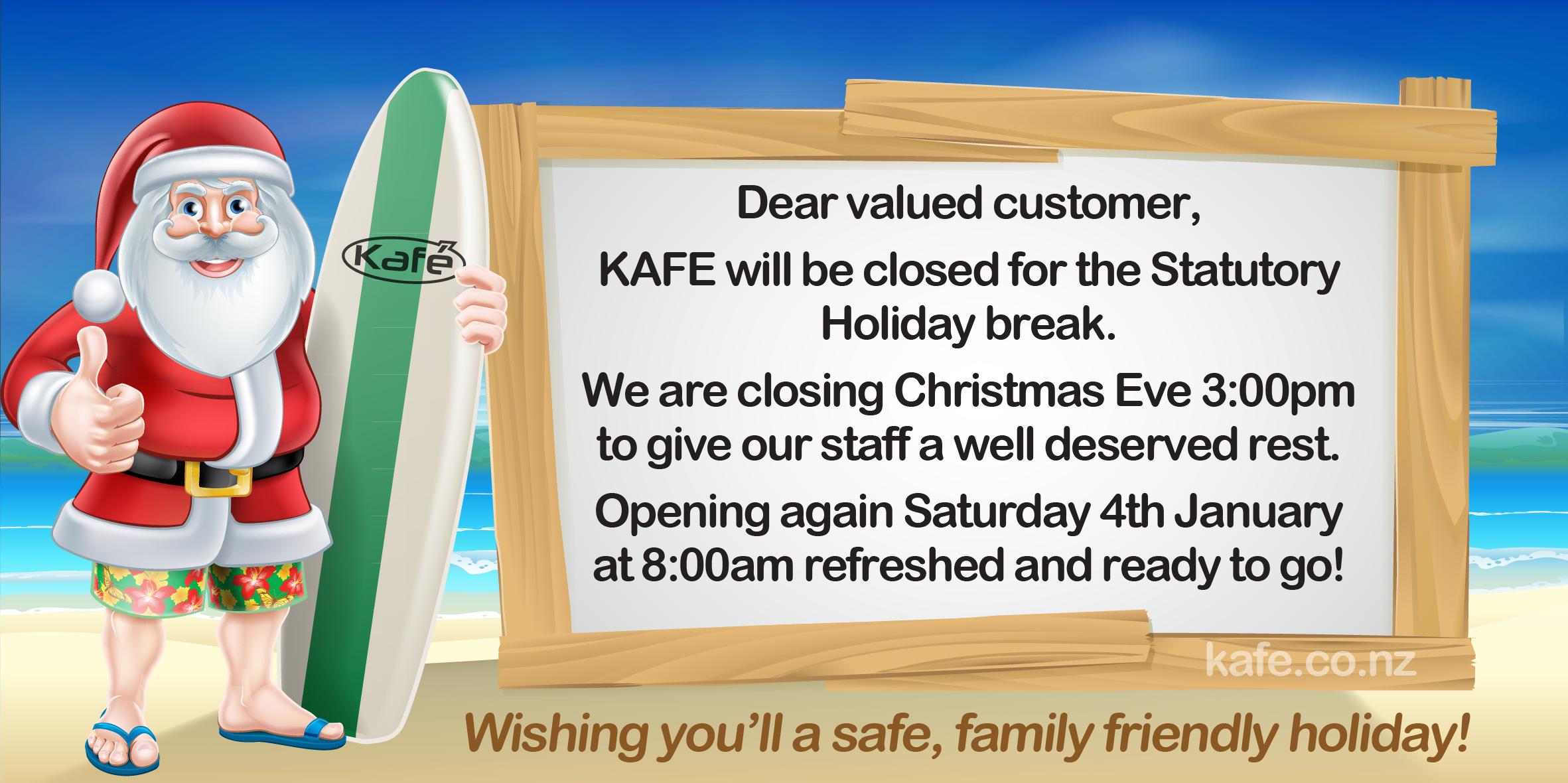 Christmas Notice 2019